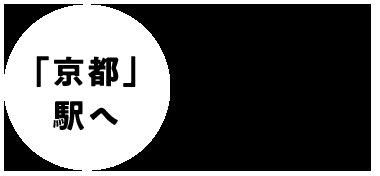 「京都」駅へ24分